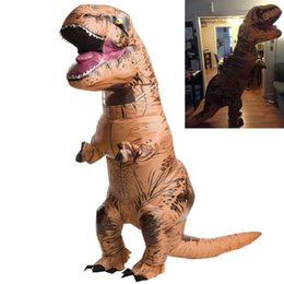 Wholesale T Rex Jurassic Park World DINOSAUR Inflatable Adult Costume TRex Jurrassic quot