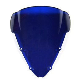 Wholesale ABS Double Bubble Tinted Black Windshield Windscreen For Honda CBR600 F4I Motorcycles New