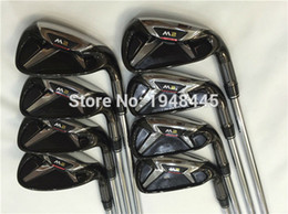 Wholesale 2016 New M2 Irons M2 Golf Irons OEM M2 Golf Clubs PSw Regular Stiff Flex Steel Shaft With Head Cover