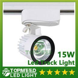 DHL CE RoHS LED lights Wholesale 15W COB Led Track Light Spot Wall Lamp Tracking Soptlight AC 85-265V Led indoor lighting 2020