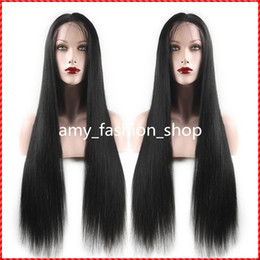 Brazilian full lace human hair wigs or Full Head Lace Front Wig Natural long straight wigs for beautiful women