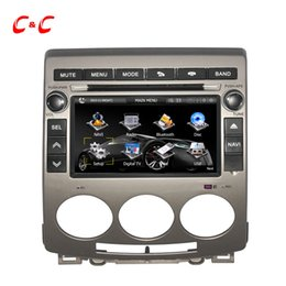 Wholesale Updated Capacitive Screen Car DVD Player for Mazda with Radio GPS Navigation SWC BT Mirror Link Free G Map Card