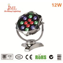 DC24V 12W LED underwater light fountain light aluminum new style waterproof swimming pool LED underwater light free shipping