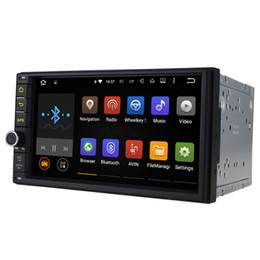 Wholesale 7 quot Android Lollipop Universal Car Radio Quad Core HD Car GPS Navigation Best Head Unit Car DVD Player