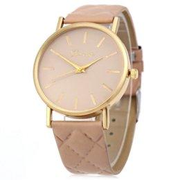 Wholesale 2016 Hot Sale Creative Fashion Style Women Watch Unisex Casual Geneva Watch Checkers Faux Leather Quartz Analog Wrist Watch
