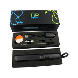 Wholesale 2016 hottest Best quality wax vaporizer pen vaporizer smoking wax concentrate dipping waxy oil stick e dab nailed smoking wax vape pen kit a