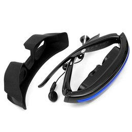 Wholesale Video Glasses inch Wide Screen HD D Stereo Virtual Reality Glasses G Mobile Theater for music movie play photo E book view