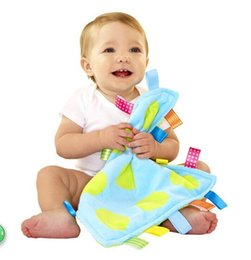 Wholesale Newborn Baby Toys Infant Soothe Towel Newborn Baby Gift Aby Appease Towel Baby Calm Wipes Soothe Towel Educational Plush Toys