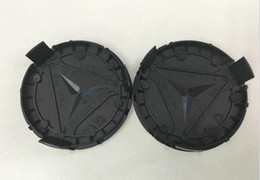 Wholesale Wheel Center Caps Hub Cover for MERCEDES Emblem Car Badge for Mercedes Black Blue Dark Blue mm DHL free