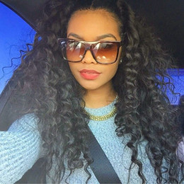 180 Density Human Hair Full Lace Wigs peruvian Lace Front Human Hair Curly Wigs Kinky Curly glueless Wig 8A Afro Curl Wig