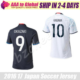 Wholesale Japan Soccer Jersey Home AWAY White Kagawa Shinji Japan Soccer Jersey Japanese Okazaki FFoot Soccer Jersey