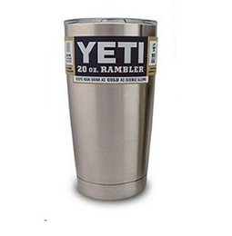Wholesale 20 OZ YETI Rambler Beer Cup Yeti Vacuum Insulated Rambler Colster Insulated Cup Mug Drink Holder