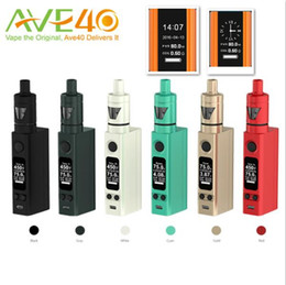 Wholesale New Joyetech Evic VTwo Mini with Tron s Starter Kit window of the Tank