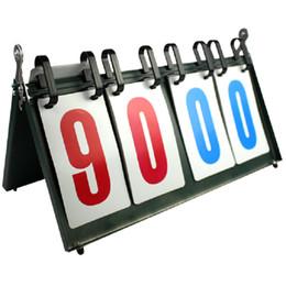 Wholesale 4 digit scoreboard Football badminton multifunction sport Best quality Four figure score indicator New Judgment board