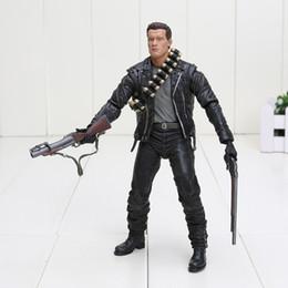 Wholesale 15pcs New Arrival Terminator Judgment Day T Arnold Schwarzenegger PVC Action Figure Collectible Model Toy quot cm