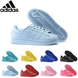 Wholesale Adidas Originals Superstar Supercolor Pack Multi color Men Women Superstars Running Shoes Sneakers Classic Super Star Casual Shoes