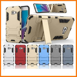 Wholesale Ironman Case For LG G Stylo Stylus LS775 Galaxy A9 pro A9100 C7 Shockproof Fashion Luxury Hybrid Layer Hard PC Soft TPU Stand Skin
