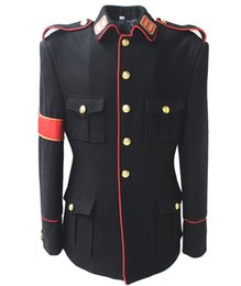Wholesale New MJ Professional Cosplay Michael Jackson BAD Dangerous Awards Military Jacket