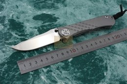 Wholesale Chris Reeve brand UMNUMZAAN U Sebenza D2 Mirror Blade full tianium alloy TC4 Big stone Pattern Handle Folding knife