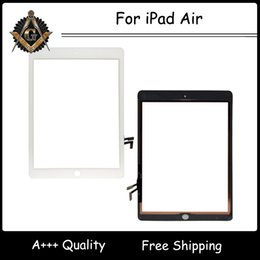 Wholesale DHL for iPad Air Digitizer for inch iPad Repair Parts Black and White Color