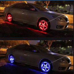 Wholesale 2016 New Modes LED Car Auto Solar Energy Flash Wheel Tire Rim Light Lamp Decoration