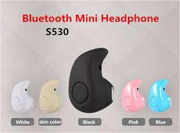 S530 Mini Bluetooth Headphone 4.0 In Ear Earphone 3.5MM Stereo Wireless Earbuds With Retails Package