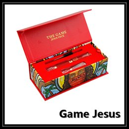 Wholesale High Quality Red G Vaporizer mAH Battery Dry Herbal Starter Kits Game Jesus Piece Vape Snoop Dogg Vaporizer Pen DHL Free