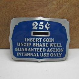 Wholesale Classic luxury piggy bank C belt buckles metal west cowboy brand DIY wild fashion men blue silver belt buckle Turbo Nos