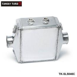 "TANSKY- Universal Aluminum Water-to-Air Liquid Racing Intercooler Core: 250 X 220 X 115mm Inlet Outlet: 3"" TK-SL5046C"