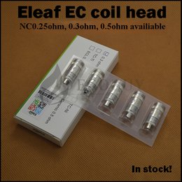 Wholesale 100 Authentic Eleaf EC ohm ohm coils nc ohm ecl coil For ijust2 istick w melo melo2 melo3 mini melo nano pico tank original