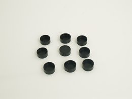 Wholesale M16 mm plastic lens caps lens covers for binoculars spotting scopes M12 board lens and telescopes CCTV lens Optical device