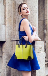 Ms. handbags 2016 WOMEN bag lady in black and white fashion handbags shoulder bag Messenger