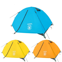 Wholesale Ultralight Person Tent Waterproof Aluminum Pole Double Layer Camping Tent Person Beach Tent Tourism Naturehike Quality