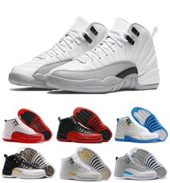 Gym Red Retro 12 Women Basketabll Shoes Cheap High-Q French Blue Taxi Playoffs Grey Sports Retros 12s XII Sneakers