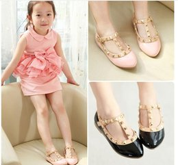 2016 New Cute Girl Princess Shoes Girls Leather Shoes Children Fashion Casual Shoes Kids Shoes Baby Shoes 4 Colors Retail