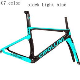 Marcos de carreras en venta-2016 azul Cipollini NK1K RB1k T1000 3K carreras RB1000 del marco del camino de la bicicleta de fibra de carbono completa de marcos de bicicletas venden S5 R5 S3 C60 795 695