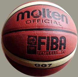 Wholesale Molten Basketball GG7 Size7 basketball PU Materia Free with ball pump net bag pins