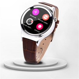Wholesale Unique Design Smart Watches Stainless Steel Round Waterproof Compass Bluetooth Wrist Watches for Android Cell Phone T3