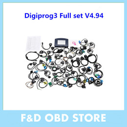 Wholesale DHL Digiprog V4 full set Odometer adjust programmer Latest Digiprog III Mileage Correct Tool Digiprog