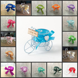 Wholesale High Quality Iron Wire Candy Boxes Favor Holders Baby Shower Wedding Suppliers Chocolate Package Metal Sweeties Box Pumpkin Carriage