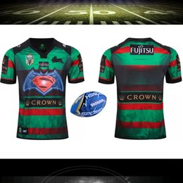 Wholesale Top Thailand quality South Sydney rabbit NRL rugby jersey Australia South Sydney hare Rugby Shirt Big size S XXXL