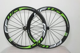 Top sale Green FFWD F6R 700C 50mm clincher carbon 3k road bike bicycle wheels bike wheelset