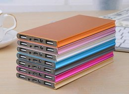 Wholesale New Mobile Power Bank mah powerbank portable charger external Battery mah mobile phone charger Backup powers
