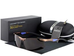Riding protection Polarized Sunglasses brand Mercury coated anti reflection Aluminum magnesium Alloy frame Anti-Glare glasses Gift box E300