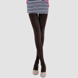 Wholesale Hot sale Autumn pantyhose D fashion satin pantyhose ultra soft silk texture Ms base socks MN01