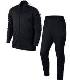 Wholesale Men training long sleeve sport wearing set top and pants