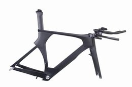 Wholesale 2016 new model Time Trial TT full carbon road bicycle bike frame frameset handlebar stem size cm P5 can be XDB ship