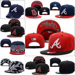 Wholesale Fashion Hot style Atlanta Baseball Cap Adjustable Popular Sports Snapbacks Braves Hat Cap Embroidered drop shipping freeshipping