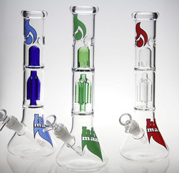 Bong! New Percolator glass bong water pipe oil rig glass water pipes oil rig Free shipping
