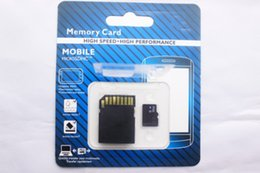 Wholesale 256 GB Micro Memory SD TF Card MicroSDXC SDHC Card for Mobile Phones Tablet PC Digital Cameras with SD Adapter